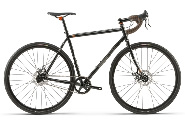 Gravel bike bombtrack arise 2 single speed 2018 noir 58 cm 179 187 cm