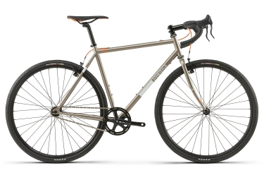 Gravel bike bombtrack arise 1 single speed 2018 gris 58 cm 179 187 cm
