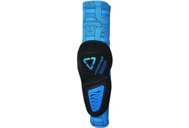 LEATT 3DF Hybrid Elbow Guard black/blue