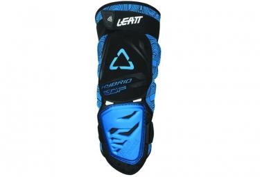 Genouilleres leatt 3df hybrid noir bleu l xl