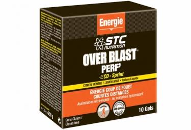 Gel energetique stc nutrition over blast perf cd sprint pomme