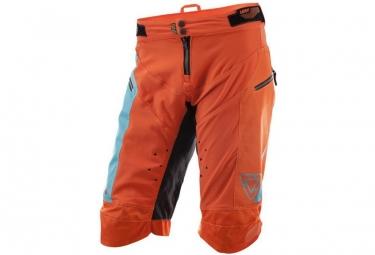 Short leatt dbx 4 0 orange bleu l