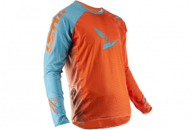 Maillot leatt dbx 4 0 ultraweld orange bleu m
