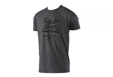 Troy Lee Designs Widow Maker Short Sleeves Tee Shirt Grey