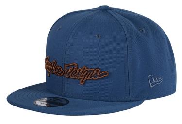 Troy Lee Design Signature Klassische Kappe Blau