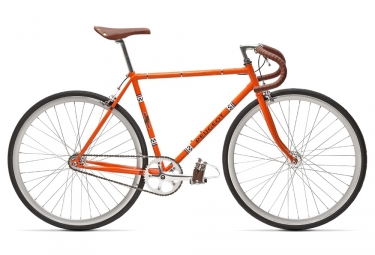 Velo fixie peugeot lu01 2018 orange 49 cm 175 180 cm