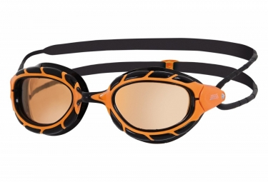 Zoggs Predator Ultra Polarised Swimming Goggles Orange Black