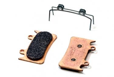paire de plaquettes brake authority pour hope 6 pistons mono 6t burly