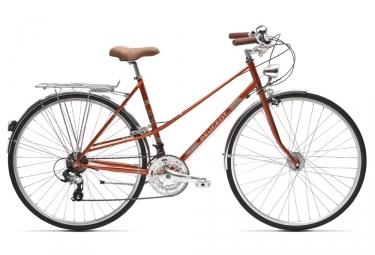 PeugeotLC01 D7+ Womens City Bike  Orange