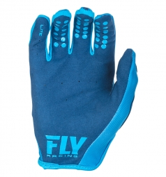 Paire de Gants longs FLY Racing Lite Bleu