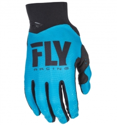 Paire de gants longs fly racing pro lite bleu l