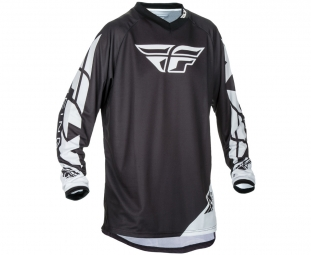 maillot manches longues fly racing universal noir s