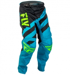 Pantalon fly racing f 16 bleu noir 34