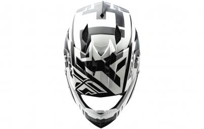 Casque intégral Enfant FLY Racing Default Blanc/Noir