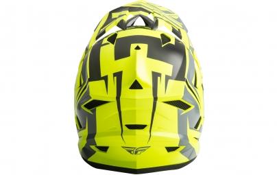 Casque intégral FLY Racing Default Jaune fluo/Noir