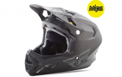 Casque integral fly racing werx rival mips noir coal s 55 56 cm