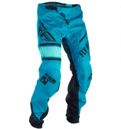 Pantalon enfant fly racing kinetic era bicycle bleu 24
