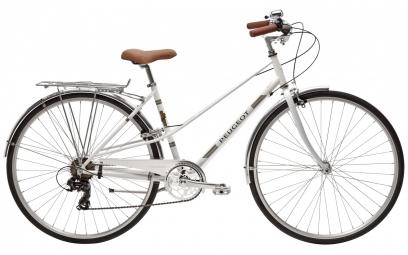PeugeotLC01 D7 Womens City Bike  Blanc