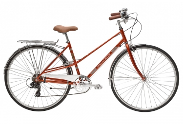 PeugeotLC01 D7 Womens City Bike  Orange