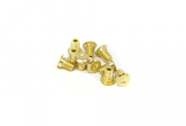 E-Thirteen Kit 10 Pins For LG1+ Pedals - 1mm - Gold
