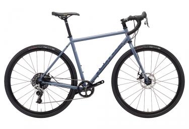 Gravel bike kona rove st sram rival 1x 2018 bleu mat 54 cm 168 178 cm