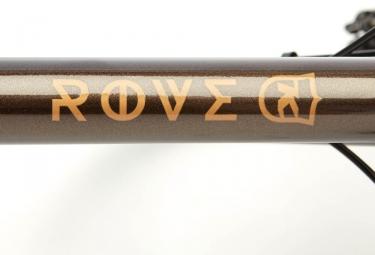 Gravel Bike Kona Rove Shimano Claris 8V 2018 Marron