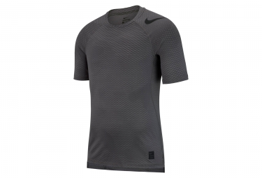 Maillot manches courtes nike pro hypercool gris homme l