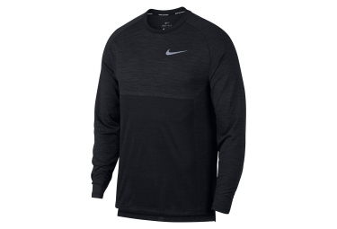 Maillot manches longues nike dry medalist noir homme l