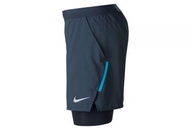 Short Nike 2-en-1 Flex Stride Bleu Homme
