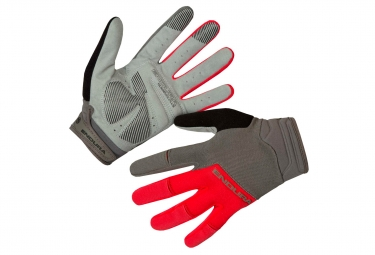 Paire de Gants Longs Endura Hummvee Plus II Rouge