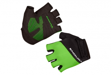 Endura Xtract II Short Gloves Neon Green