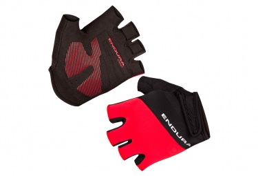 Paire de Gants Courts Endura Xtract II Rouge