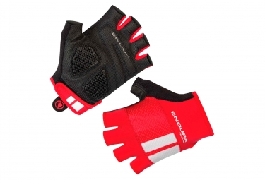 Paire de Gants Courts Endura FS260-Pro Aerogel Rouge