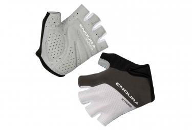 Paire de gants courts endura hyperon ii blanc s