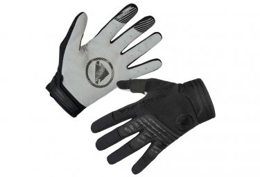 Paire de Gants Longs Endura SingleTrack Noir