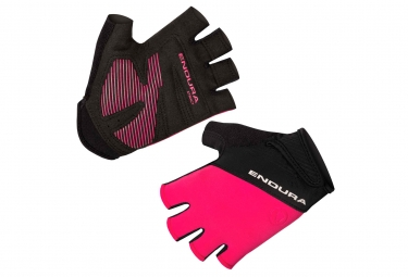 Endura Xtract II Women Short Gloves Neon Pink