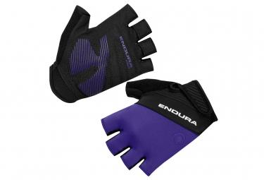 Paire de gants courts femme endura xtract ii violet s
