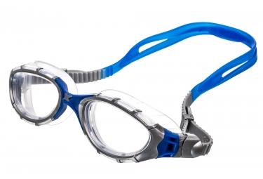 lunettes de natation zoggs predator flex argent bleu