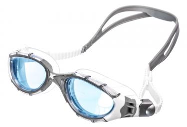 lunettes de natation zoggs predator flex gris blanc