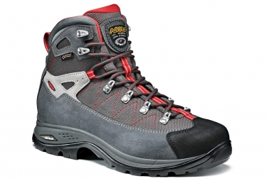 Asolo Finder GV Gore-Tex Hiking Shoes Grey Red