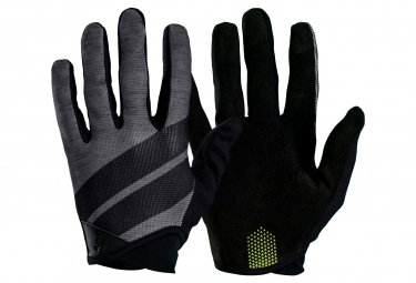 Paire de Gants Longs Bontrager Rhythm Charcoal