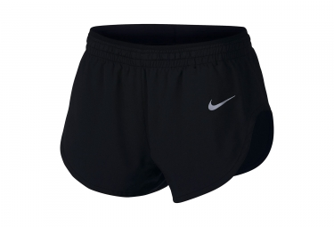 Nike Short Elevate Black White Mujeres