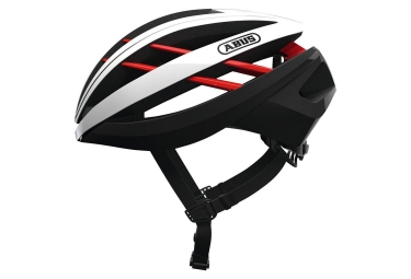 Abus Aventor Helmet White Red