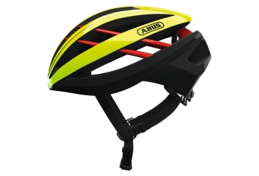 Abus Aventor Helmet Neon Yellow Red