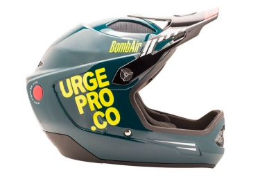 Casque integral urge 2018 bombair vert jaune xl 61 62 cm