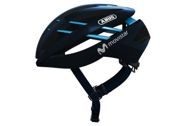 Abus Aventor Movistar Team Helmet Blue