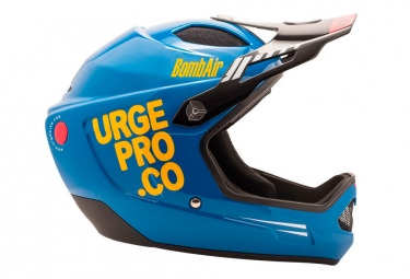 URGE BombAir FullFace Helm Blau / Orange