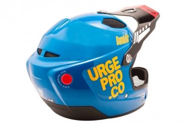 Casque Intégral URGE BombAir Bleu Orange