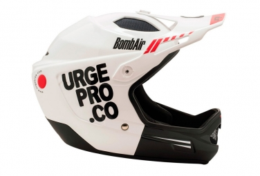 URGE BombAir FullFace Helmet White/Black