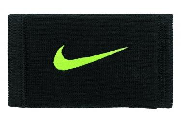 Bandeaux éponge Nike Dri-Fit Reveal Noir Jaune (Paire)